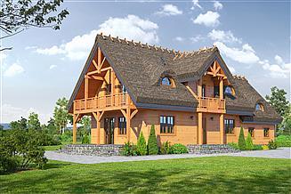 Projekt domu Milicz 41 dws