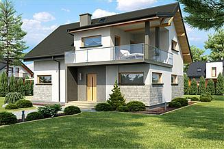 Projekt domu Aosta III Termo