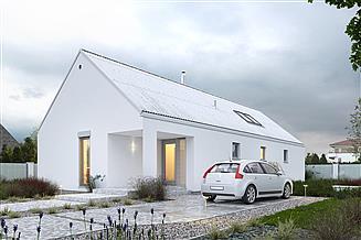 Projekt domu Ekonomiczny 2B