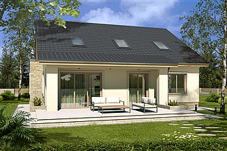 Projekt domu Małgosia D