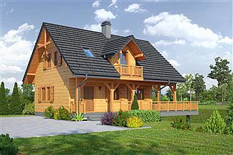 Projekt domu Świdnica mała 9 dws