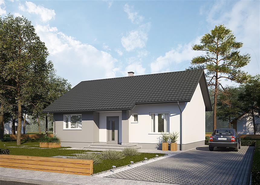 Projekt Domu Sd2 Mury Pl
