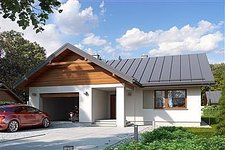 Projekt domu Niko drewniany