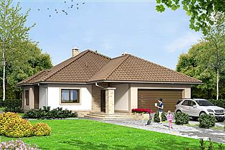Projekt domu Szafran G2