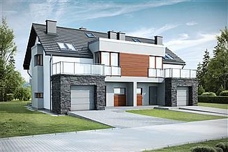 Projekt domu Taneto III Termo bliźniak