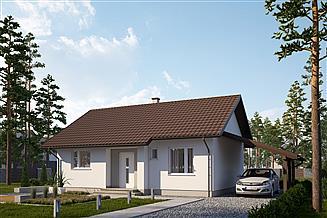 Projekt domu SD3