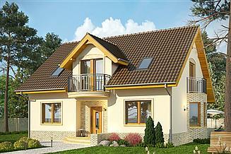 Projekt domu Wicher 2