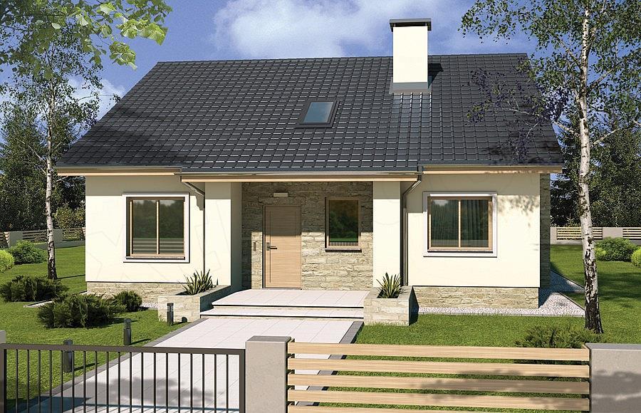 Projekt Domu Małgosia Aa Bez Garażu 964 M2 Koszt Budowy Extradom