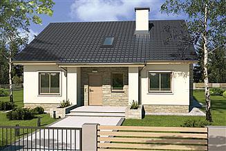 Projekt domu Małgosia DD
