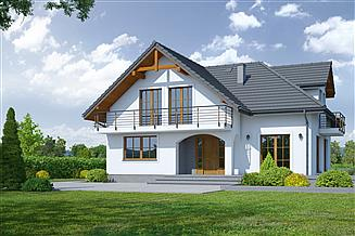 Projekt domu Sławków b2