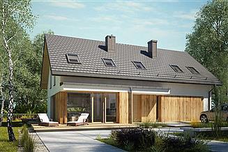 Projekt domu Dla Globtrotera 1