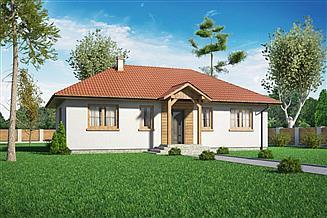 Projekt domu Domek Piastowski 16-02 (002 ES 16-02)