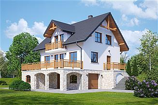 Projekt domu Jaworzynka nowa mg
