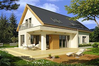 Projekt domu Antoni C 2-garaże