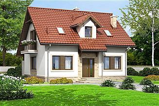 Projekt domu Kornetto