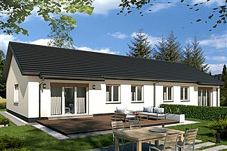 Projekt domu FILIP A bliźniak