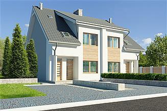 Projekt domu Fossano III DCBL13
