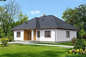 Projekt domu Saga III LMB69b