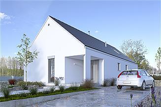 Projekt domu Ekonomiczny 1B