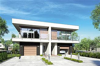 Projekt domu Modern Twin