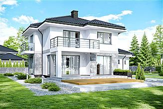 Projekt domu APS 266 + 2G
