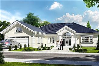 Projekt domu Willa parkowa 2
