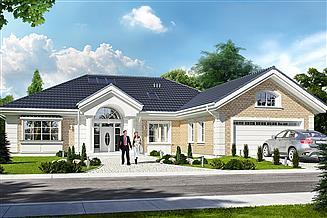 Projekt domu Willa parkowa 3