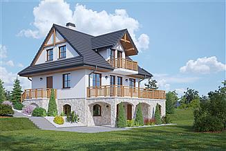 Projekt domu Jaworzynka nowa 3