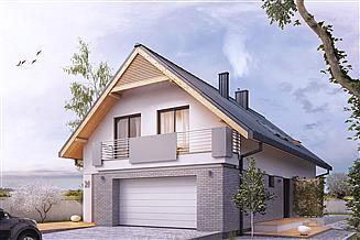 Projekt domu Amarylis 3