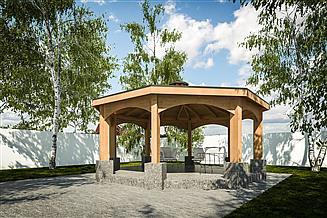 Projekt altany G323 - Altana Ogrodowa