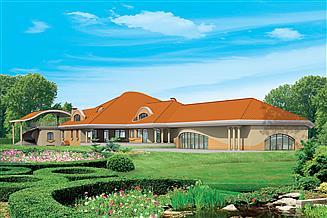 Projekt domu weselnego Dom weselny Ariadna