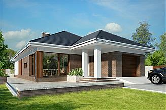 Projekt domu Marsylia DCB122