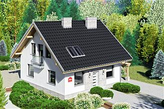 Projekt domu Dom przy Cyprysowej 26 N