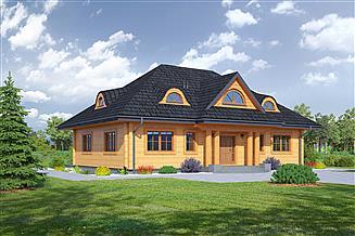 Projekt domu Chmielniki dw 49x