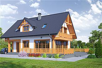 Projekt domu Osiek 331
