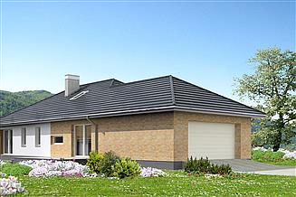 Projekt domu Verona II DCB124a