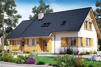 Projekt domu BS-07 dwulokalowy
