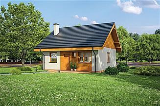 Projekt domu Murator C333f Miarodajny - wariant VI