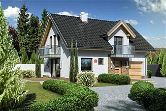 Projekt domu Dom przy Alabastrowej 21 N