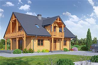 Projekt domu Jaworki 13 dw