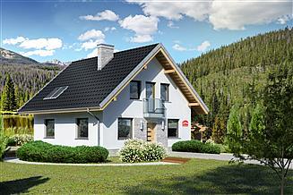 Projekt domu Dom przy Cyprysowej 27 N