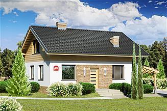 Projekt domu Dom przy Imbirowej 4 N