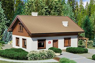 Projekt domu Dom przy Imbirowej 4