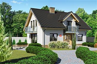 Projekt domu Dom przy Alabastrowej 20 N