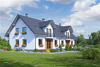 Projekt domu Tomaszów ab
