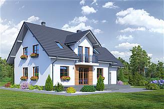 Projekt domu Tomaszów g