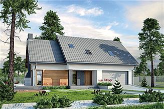 Projekt domu Murator M210 Jasna przestrzeń