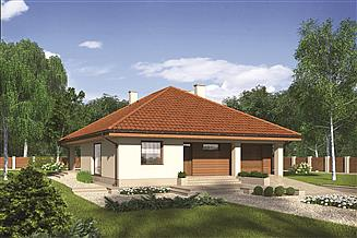 Projekt domu Murator M212 Piasek pustyni
