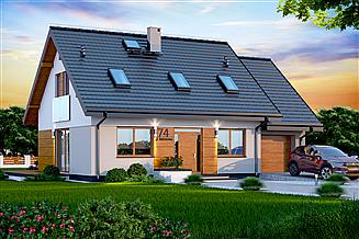 Projekt domu Kendra XS BIS