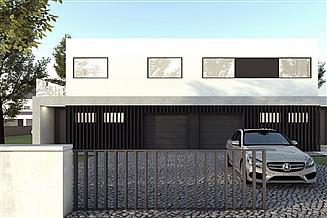 Projekt domu B-122